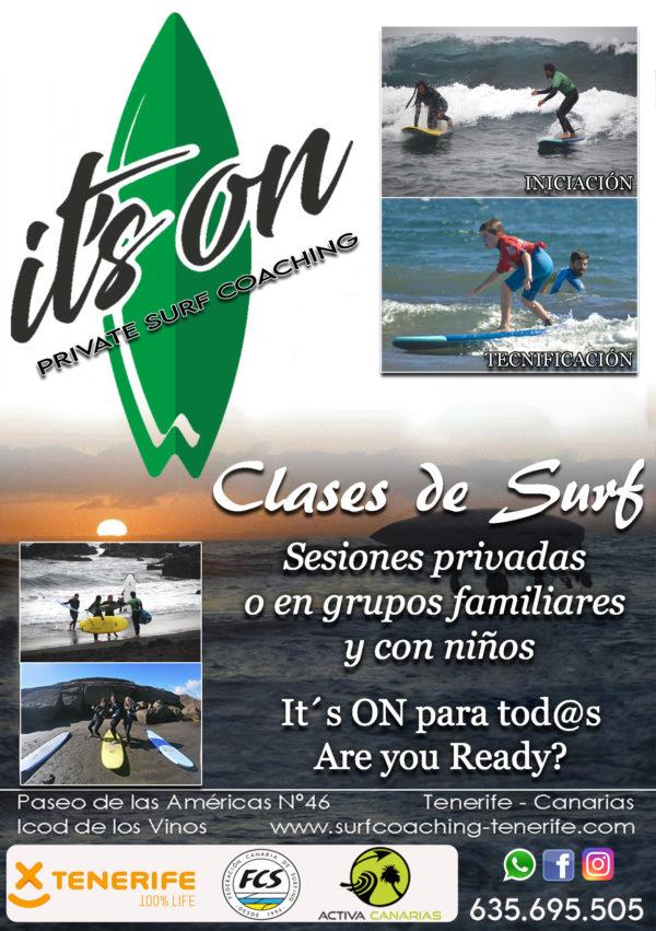 SESIONES DE SURF